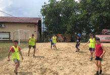 fotbal pe nisip